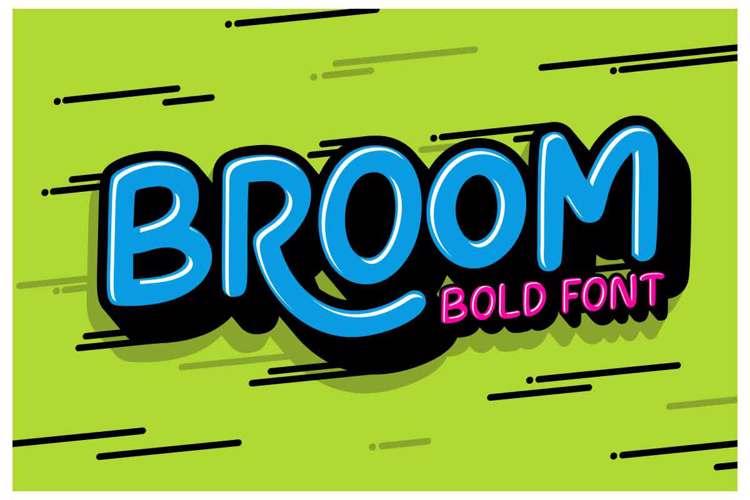 Broom Font