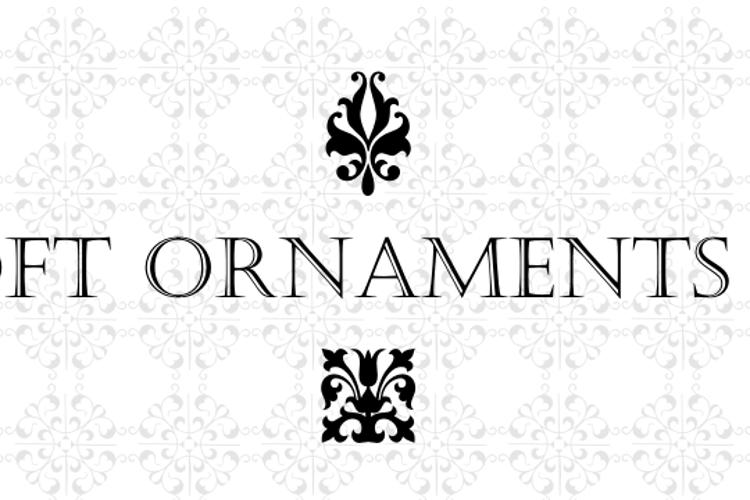 Soft Ornaments Twenty Font