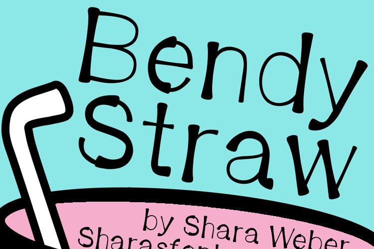Bendy Straw Font
