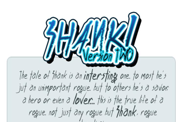 Shank Font
