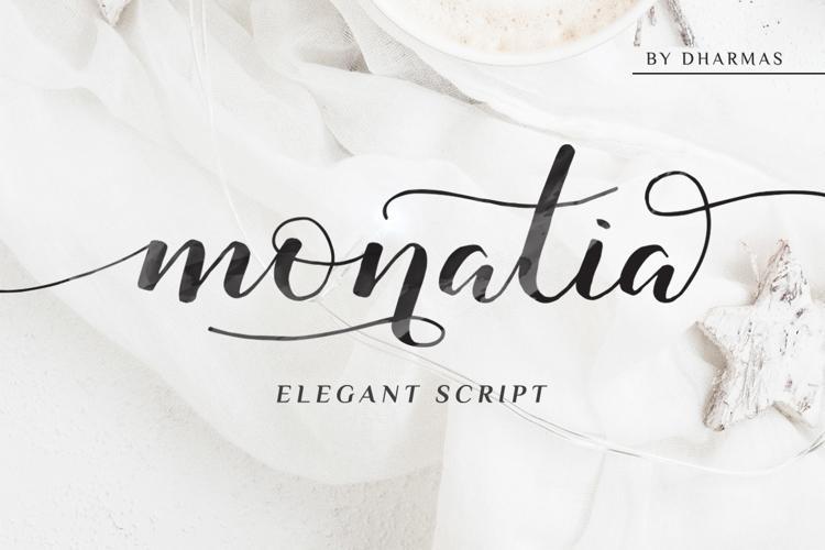 Monatia Font