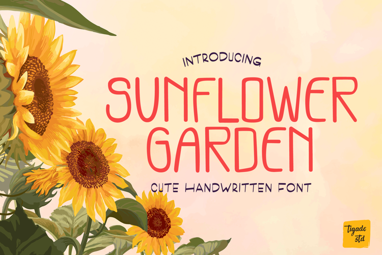 Sunflower Garden Font