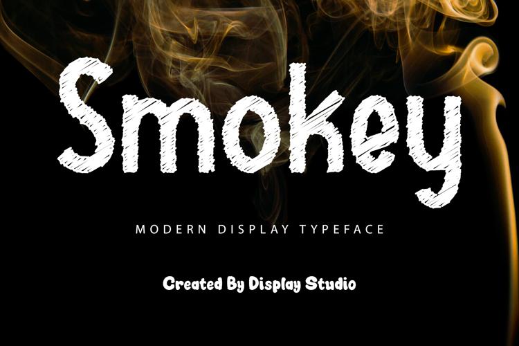 Smokey Font