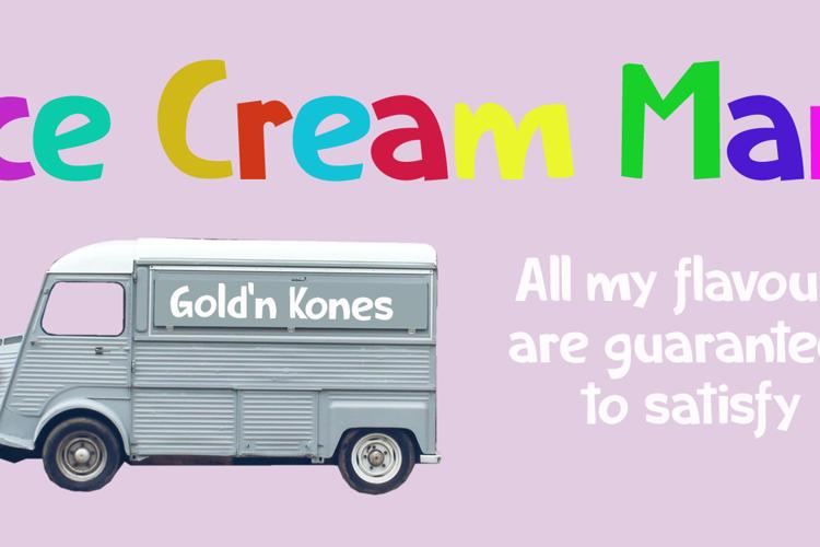 Ice Cream Man DEMO Font