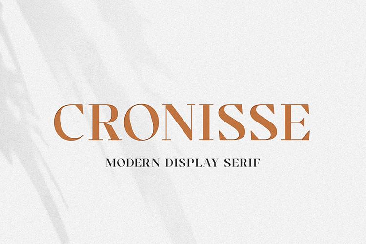 Cronisse Font