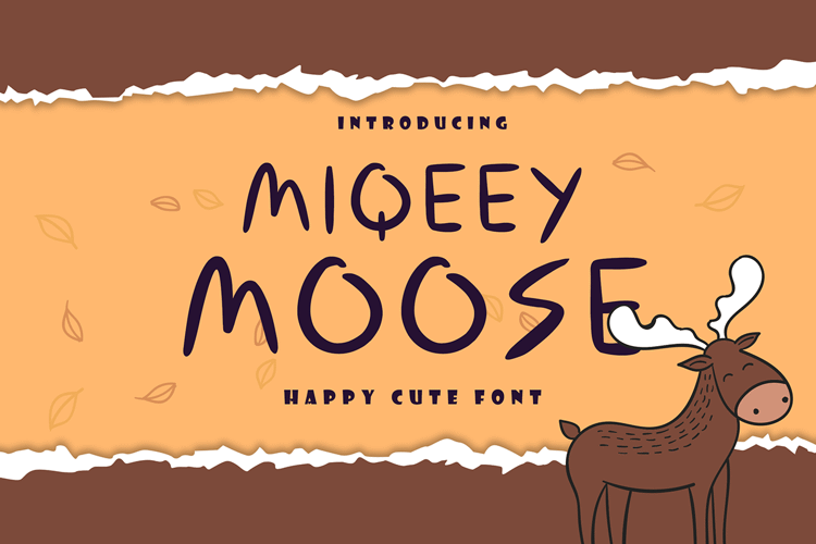 Miqeey Moose Font