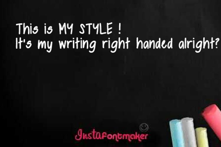 mystyle Font