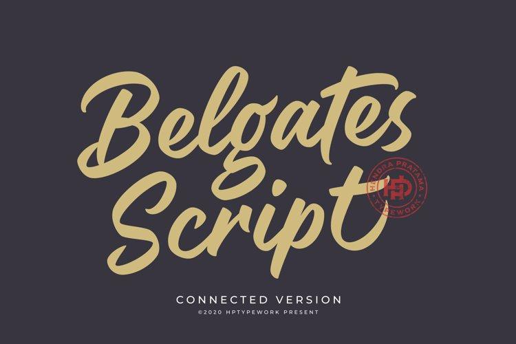 Belgates Font