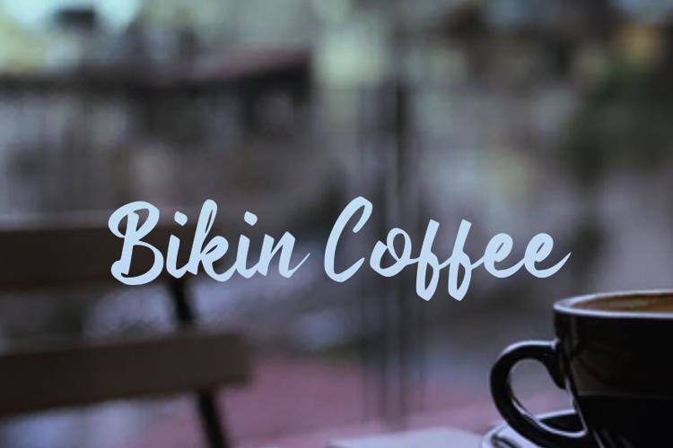 b Bikin Coffee Font