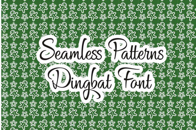 Seamless Patterns Font