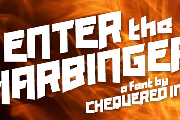 Enter the Harbinger Font
