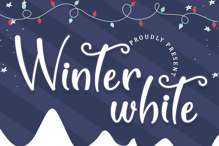 Winter White Font