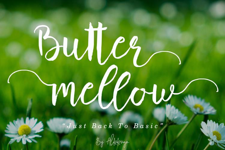 Butter Mellow Font