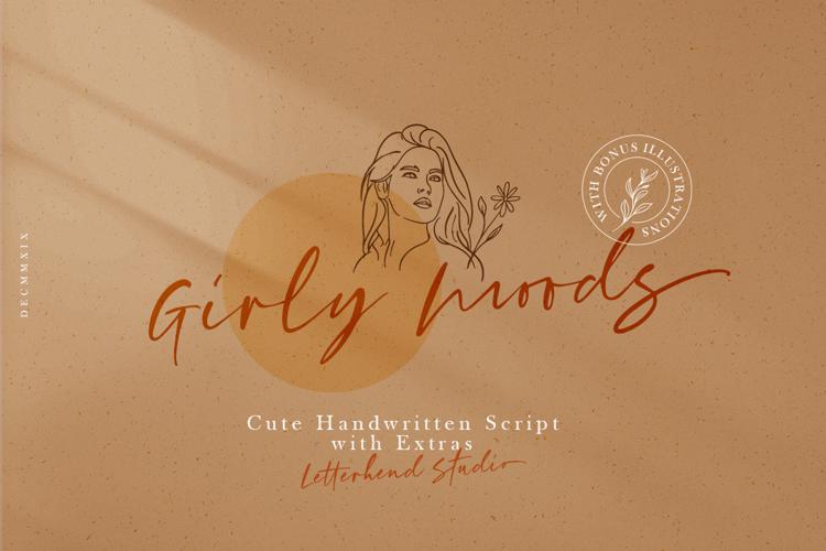 Girly Moods Font