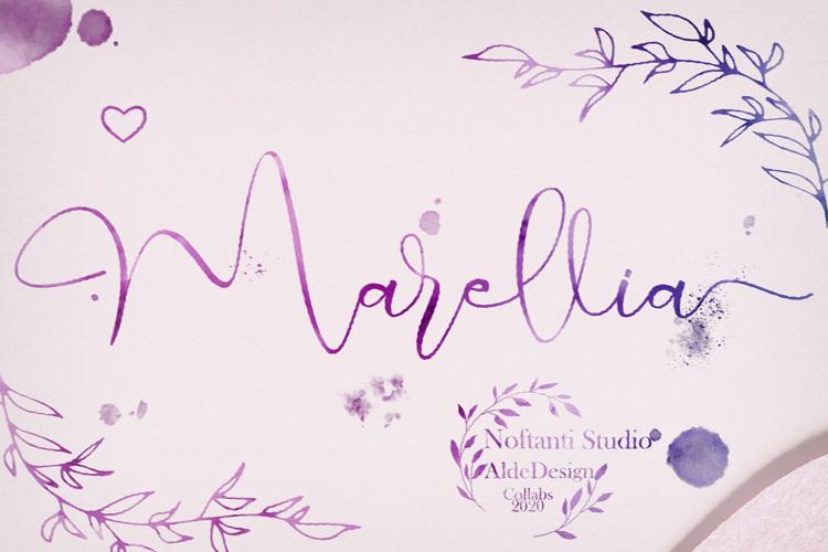 Marellia Script Font