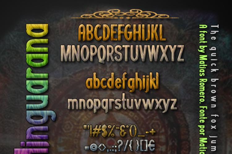 Minguarana Font