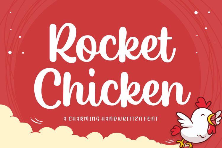Rocket Chicken Font
