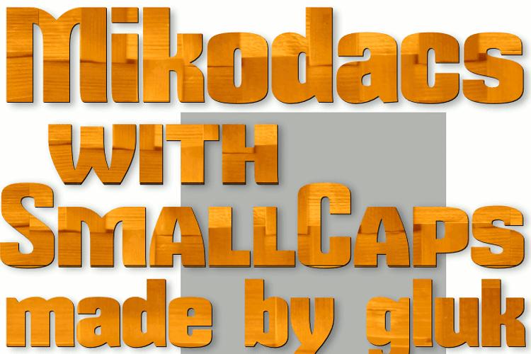 Mikodacs Font