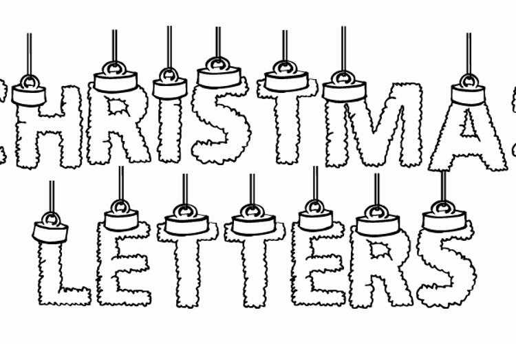 CF Chritsmas Letters Font