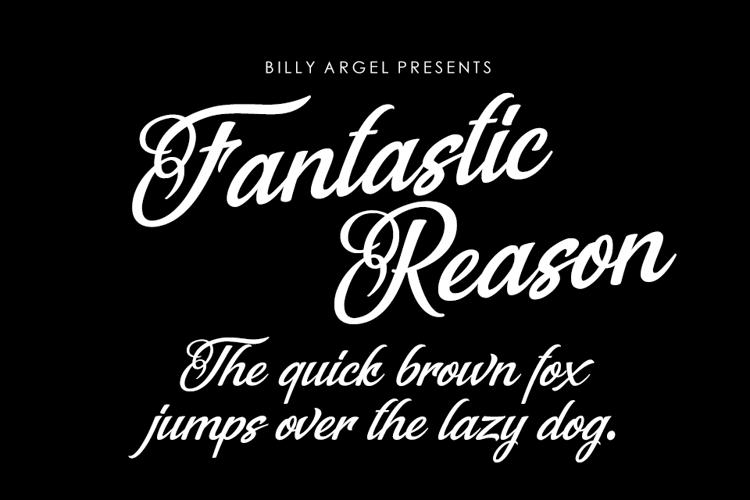 Fantastic Reason Font