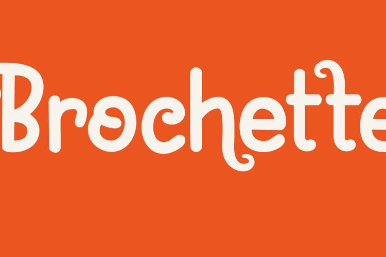 Brochette DEMO Font