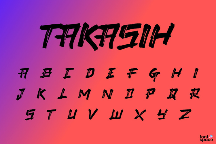 Takasih Font