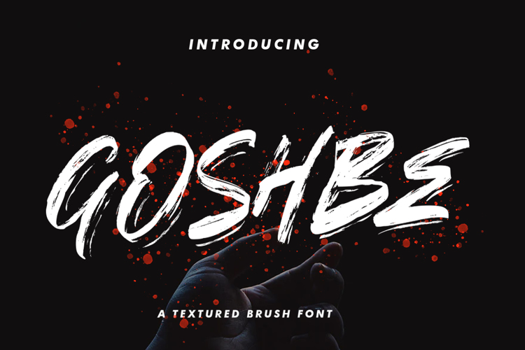 GOSHBE Font