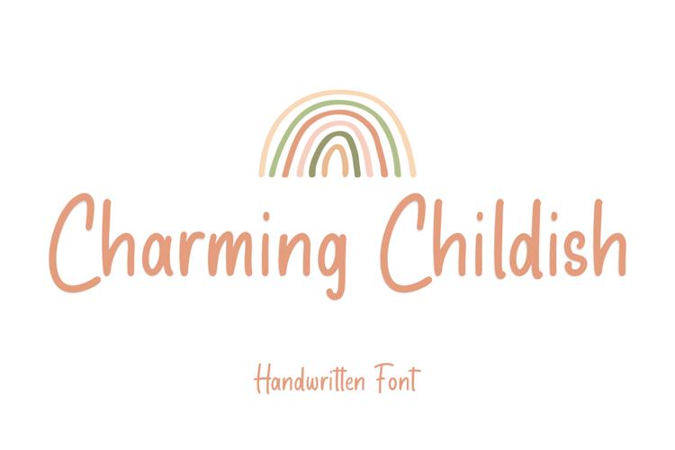 Charming Childish Font