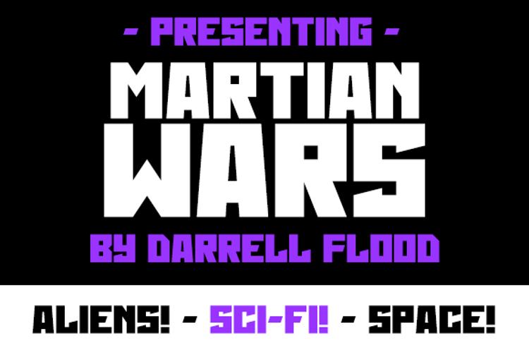 Martian Wars Font