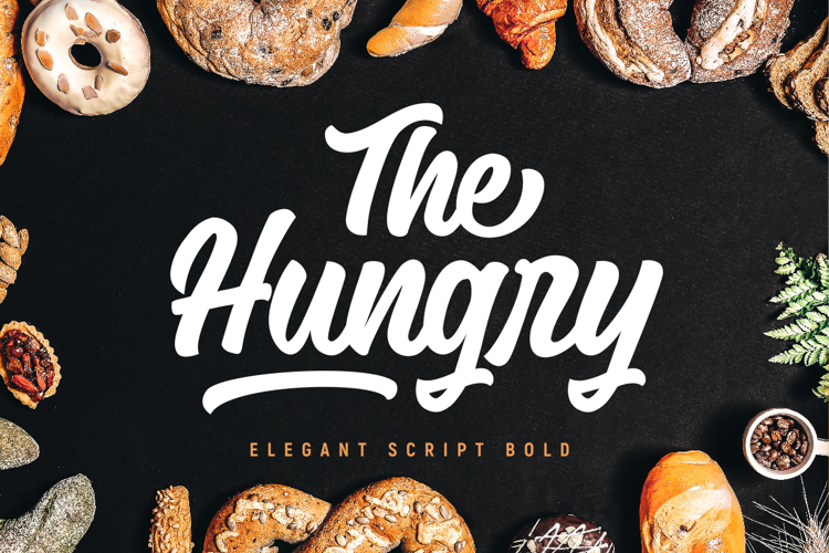 The Hungry Demo Font