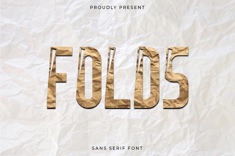 Folds Font