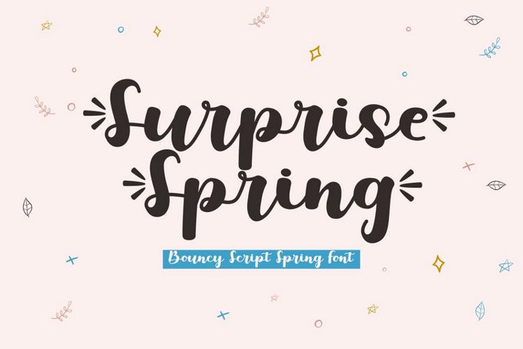 Surprise Spring Font