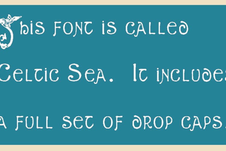 Celtic Sea Font