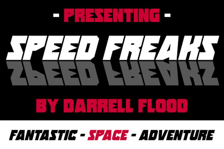 Speed Freaks Font