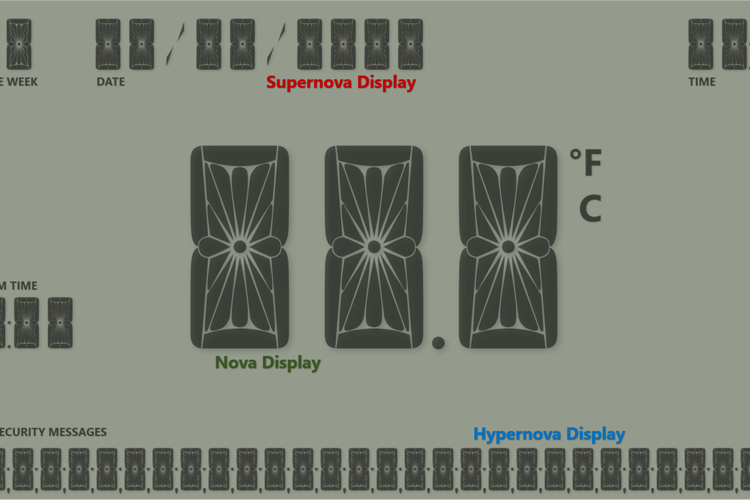 Hypernova Display Font