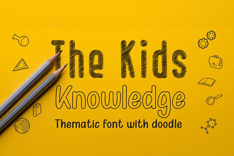 Kid Knowledges 1 Font