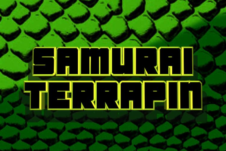 Samurai Terrapin Font