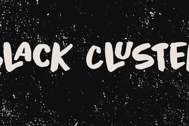 Black Cluster DEMO Font