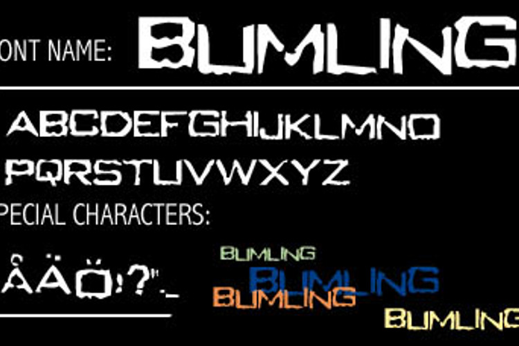 Bumling Font