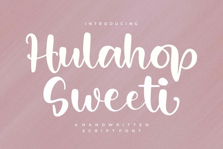 Hulahop Sweeti Font