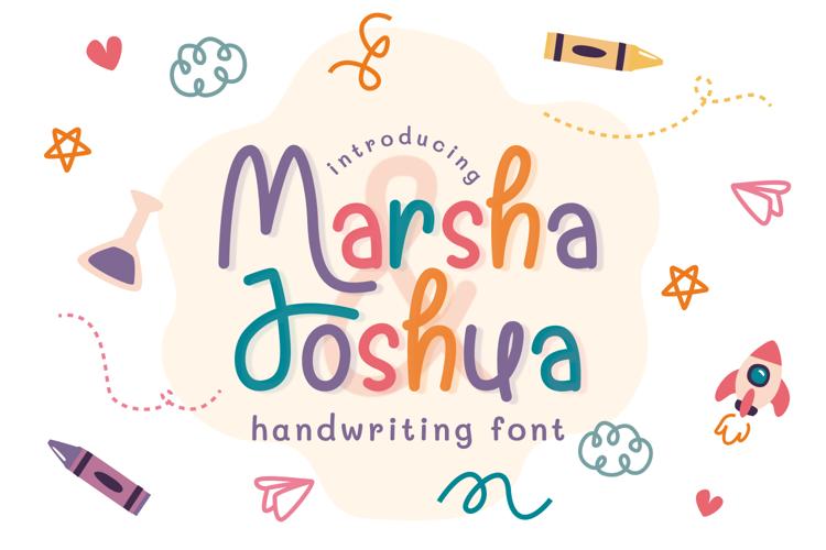 Marsha & Joshua Font