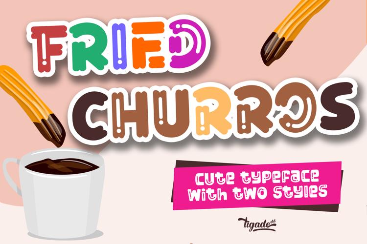 Fried Churros Font