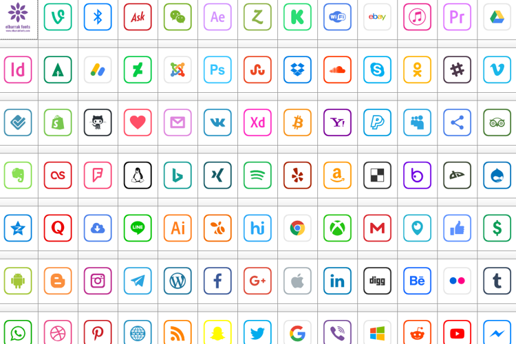 Icons 2019 Font