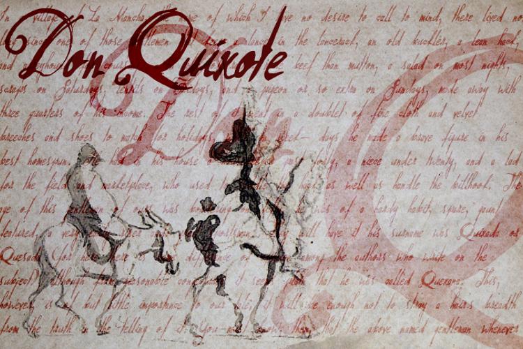Don Quixote Font