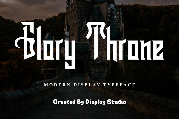 Glory Throne Font