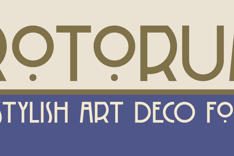 DK Rotorua Font