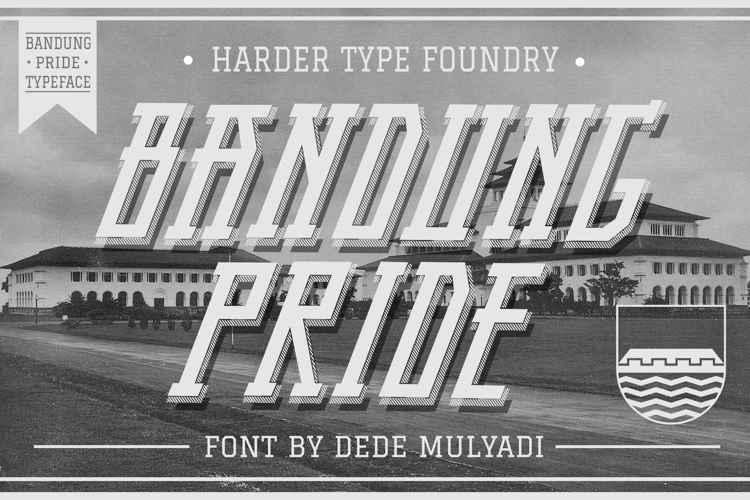 Bandung Pride Font