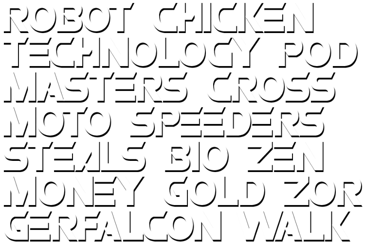 ROBO Font