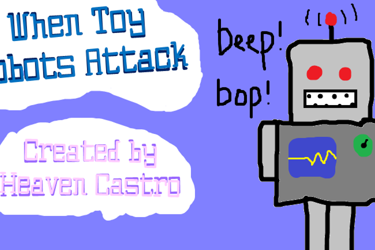 When Toy Robots Attack Font