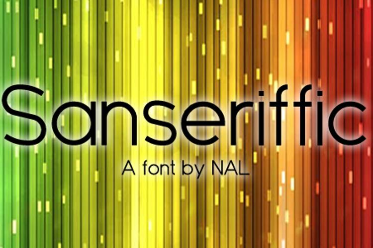 Sanseriffic Font